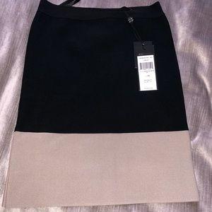 BCBG Maxazria Bandage Skirt NWT